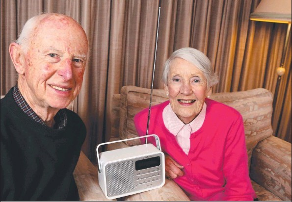 Robert and Joan Kerr are enjoying hearing again after having hearing aids fitted.