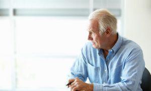 man feeling isolated hearing loss