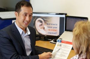 audiology assessment with Michael Wong