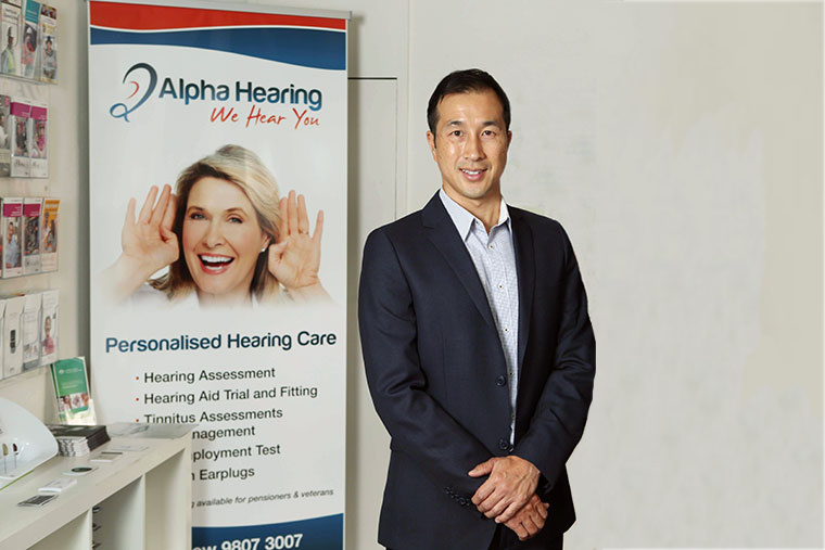 Michael Wong and Eugene Chang audiology services