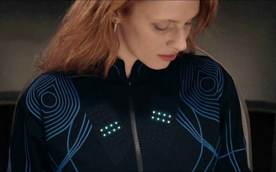 Jacket allows deaf people to  'feel' the music