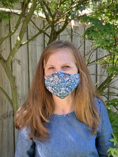 wearing face mask Katherine Henshall Alpha Hearing Audiologist